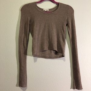 Don't Ask Why Long Sleeve Crop Top